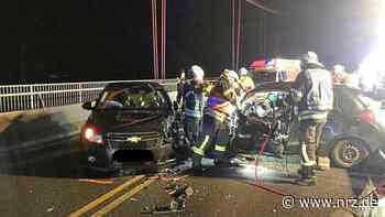 Emmerich/Kleve: Schwerer Verkehrsunfall auf der Rheinbrücke - NRZ