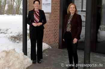POL-KLE: Kreis Kleve - Polizeipräsidentin Christine Frücht zu Besuch im Kreishaus - Presseportal.de