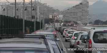 La route du bord de mer entre Antibes et Villeneuve-Loubet rouverte à la circulation - Nice-Matin