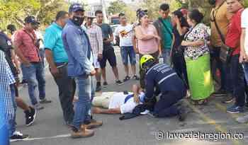 Aparatoso accidente de tránsito en la vía Suaza - Florencia - Huila