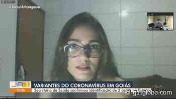 Moradora de Ceres que foi diagnosticada com nova variante do coronavírus acreditou que estivesse com crise alérgica - G1