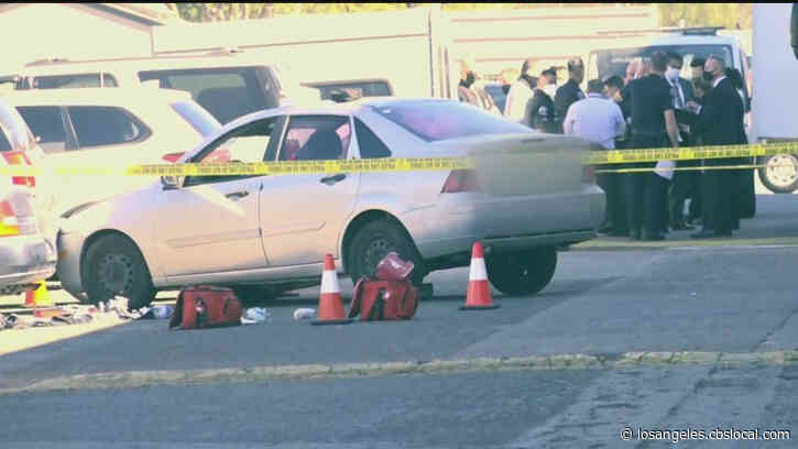 Driver Killed By Costa Mesa Police After Allegedly Backing Over Passengers With Car, Driving Toward Officers