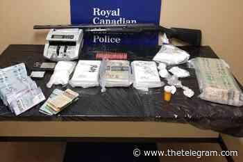 Grand Falls-Windsor drug bust nets cocaine worth $840K on the street: RCMP - The Telegram
