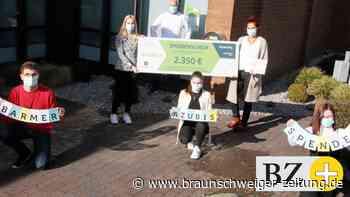 Auszubildende sammeln 2350 Euro für Kinderoase im Klinikum