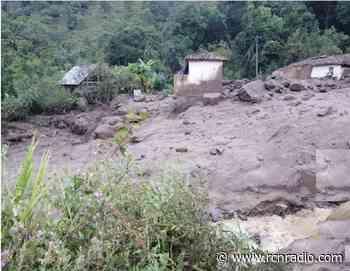 Declaran calamidad pública en Carcasí, Santander, por lluvias - RCN Radio
