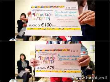 L'infanzia di Revello stra-vince al concorso Coriandoli di Frutta del Carnevale di Saluzzo - TargatoCn.it