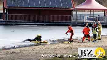 Großeinsatz am Salzgittersee – Personen ins Eis eingebrochen?
