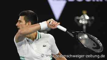 Australian Open: Djokovic gegen Medwedew: Nach Schmerzen zu Titel 9?