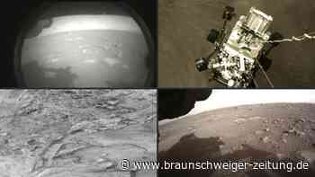 """""""Perseverance""""-Mission: Das sind die ersten Bilder von Mars"""