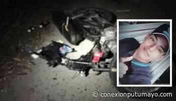 Joven fallece en aparatoso choque mientras transitaba en su motocicleta en Orito, Putumayo - Conexión Putumayo