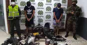 Dos capturados por desvalijar una moto hurtada en Aguazul - Noticias de casanare | La voz de yopal - La Voz De Yopal