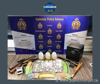 Camrose Police Service and Wetaskiwin RCMP make arrests and seizures in joint drug investigation – The Pipestone Flyer - Pipestone Flyer