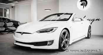 La Tesla Model S transformée en cabriolet de luxe par Ares Design - Autonews