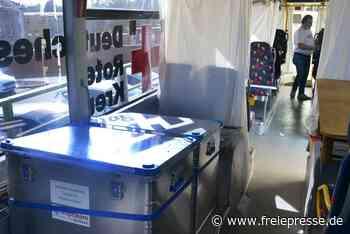 Einsatzbereit: Sachsens erster Impfbus steht in Hainichen - Freie Presse