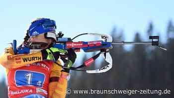 Titelkämpfe in Pokljuka: Deutsche Damen-Staffel holt Silber bei Biathlon-WM