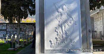 Sala Consilina: un'opera in marmo raffigurante San Michele a protezione del Cimitero cittadino - ondanews