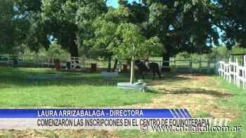 Comenzaron las inscripciones en el Centro de Equinoterapia Municipal Pucara - Central de Noticias