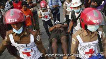 Nach Militärputsch: Medien: Mindestens zwei Tote bei Protesten in Myanmar