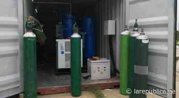 Hospital COVID-19 de Chepén ya cuenta con planta de oxígeno - LaRepública.pe