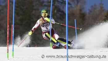 Alpine Ski-WM: Zweites Gold: Liensberger entthront Slalom-Queen Shiffrin