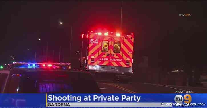 Man, 23, Shot Multiple Times At Large Gathering In South LA