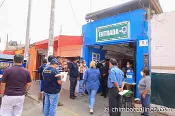Multan al mercado Alfonso Ugarte por no despejar vías de acceso generando aglomeración de personas - Diario Digital Chimbote en Línea