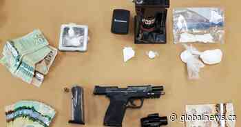 $14,000 worth of cocaine, loaded handgun seized during east London, Ont., search - Global News