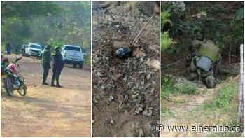 Pánico en Chinú por artefacto explosivo hallado junto a la vía - EL HERALDO