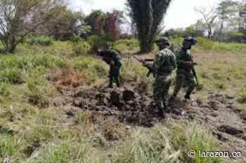 Hallan artefacto explosivo a orillas de vía rural en Chinú - LA RAZÓN.CO