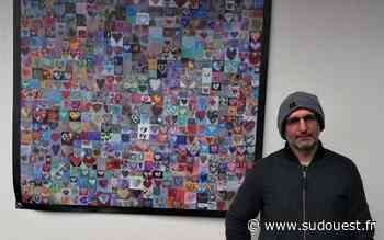 Ustaritz : 1 000 cœurs pour saluer les soignants - Sud Ouest