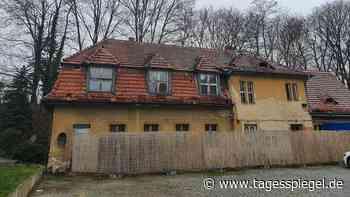 Alarmstufe Abriss in Hermsdorf : Das Schrotthaus auf dem Feuerwehrgelände - Tagesspiegel