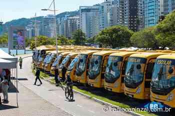 Governo do Estado contempla Capinzal, Ipira e Presidente Castello Branco com ônibus para o transporte escolar - Rádio Capinzal