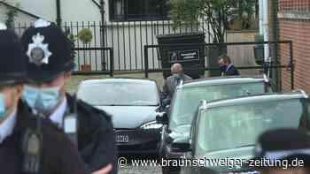 Prinz Charles besucht seinen Vater Philip in Londoner Krankenhaus