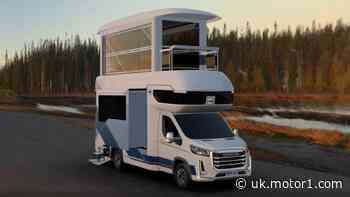 Too-tall Chinese motorhome has second story sun room and two slideouts