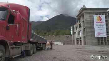 Yura dona 20 000 bolsas de cemento para construcción de Hospital de Pediatría Especializada y Cáncer Infantil - RPP Noticias