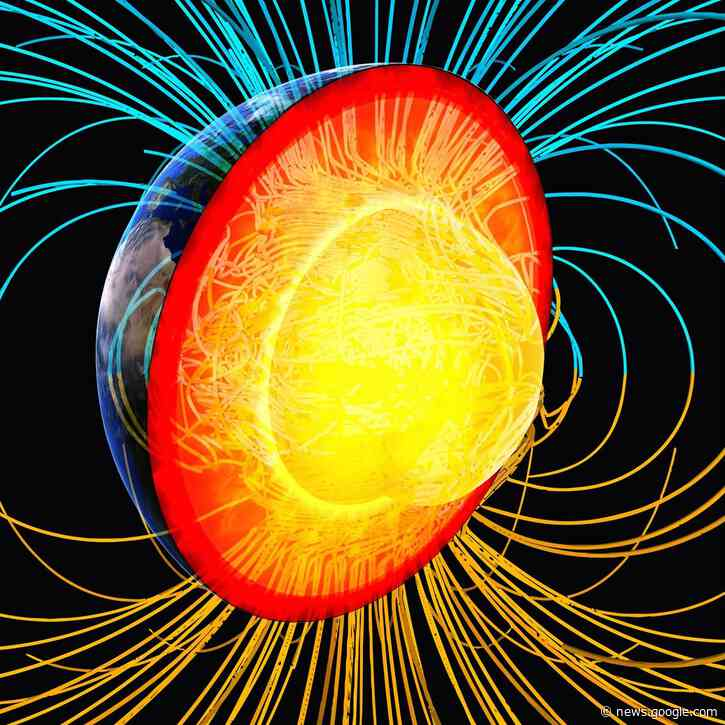 Earth's Magnetic Field Reversal 42000 Years Ago Triggered a Global Environmental Crisis - SciTechDaily