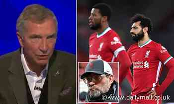 Graeme Souness insists Reds are 'a shadow' of a Liverpool side