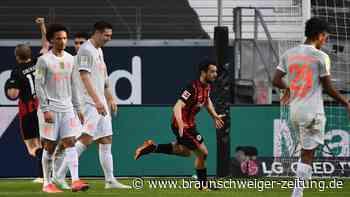 22. Bundesliga-Spieltag: Frankfurt schockt den FC Bayern – Dortmund gewinnt Derby