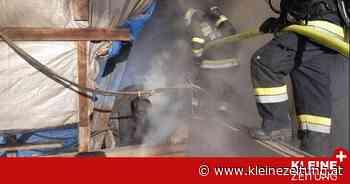 Bad Waltersdorf: Trockenanlage setzte Silo in Brand - Kleine Zeitung