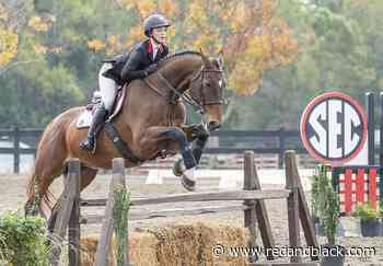 Georgia equestrian Jumping Seat squad defeats Sweet Briar College 7-3 - Red and Black