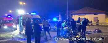 Incidente sulla Vallassina Un ferito gravissimo a Monguzzo - La Provincia di Como