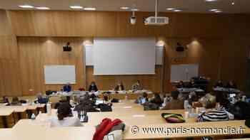 À Mont-Saint-Aignan, le conseil municipal débat des orientations budgétaires sur les bancs de la fac - Paris-Normandie