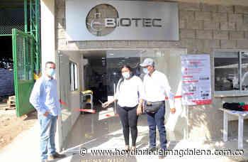 Inaugurado Biotec, un laboratorio para insumos bilógicos en Riofrío - Hoy Diario del Magdalena