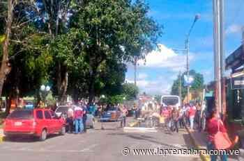 Personal de salud en Sarare protesta por dotación de insumos - La Prensa de Lara