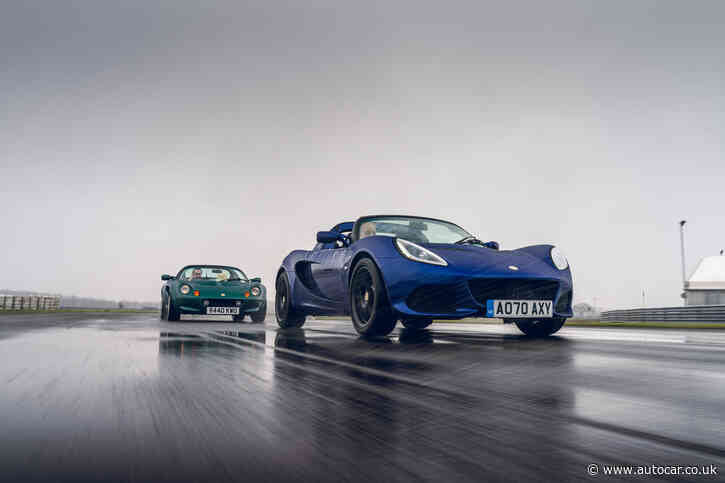 First and last: tracing the evolution of the Lotus Elise