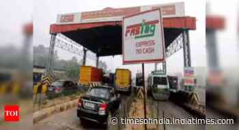 FASTags drive toll collections to 1-day record of Rs 102 cr