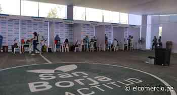 San Borja: habilitan centro de vacunación contra el COVID-19 en alianza con Essalud - El Comercio Perú