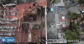 Al menos un año demorará reconstrucción completa del Hospital San Borja tras incendio - BioBioChile