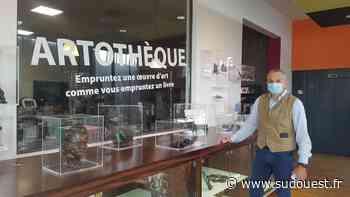 Gironde : la médiathèque de Gradignan propose d'emprunter des œuvres d'art grâce à son artothèque - Sud Ouest