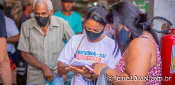 Prefeitura do Cabo de Santo Agostinho cadastra idosos para tomar vacina contra a covid-19 - JC Online
